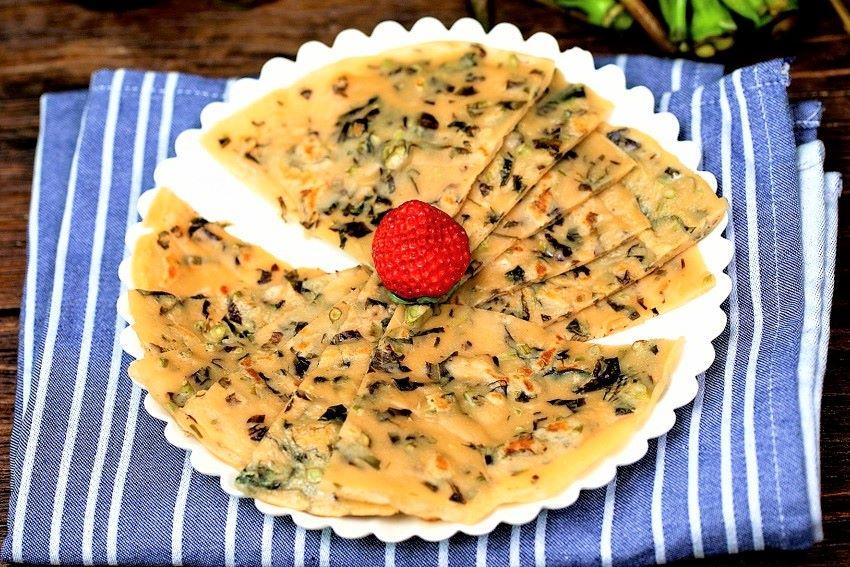 Chinese toon egg pancakes recipe china breakfast 2021