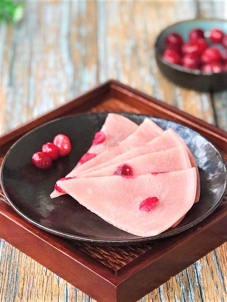 Cranberry Fruit Pancakes