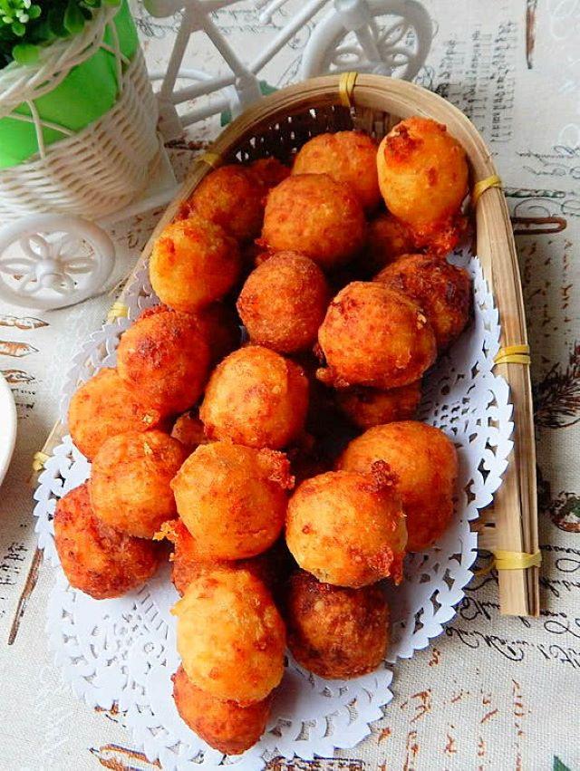 Deep fried potato balls 2020
