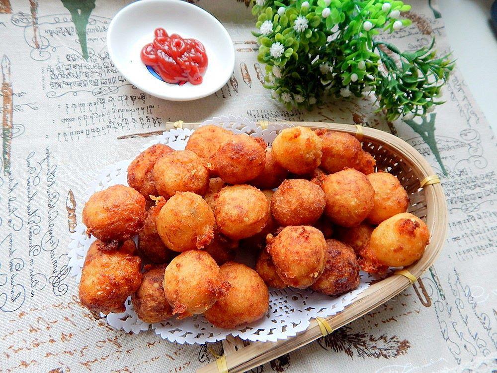 Deep fried potato balls recipes