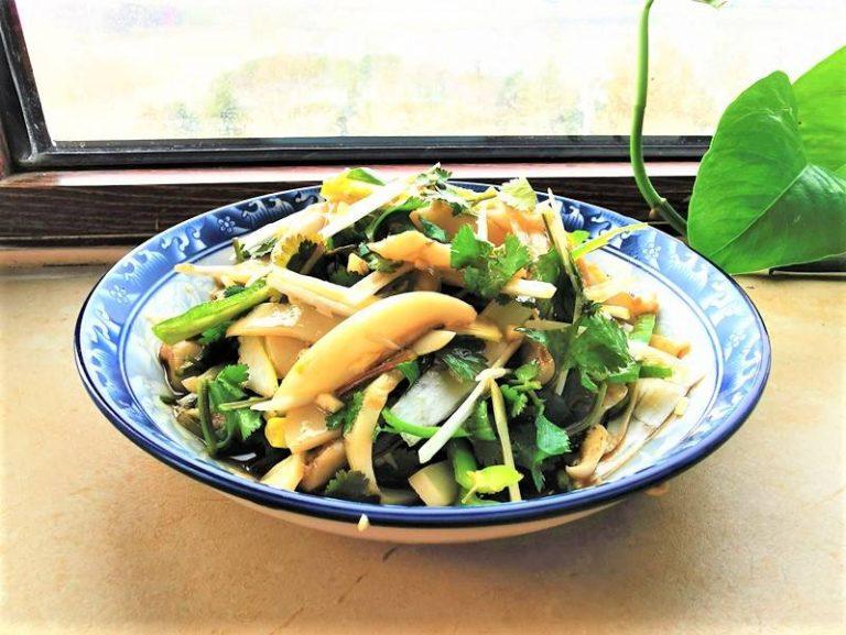 Squid (Calamari) salad recipe Asian cold dishes 2022