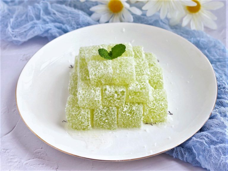 Sweet Cucumber Dessert homemade Summer snack Chinese cucumber cold cake