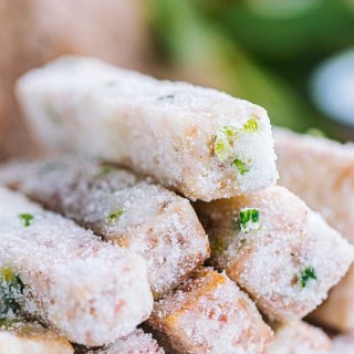 Sweet taro sticks dessert recipe sanding sugar taro china snacks