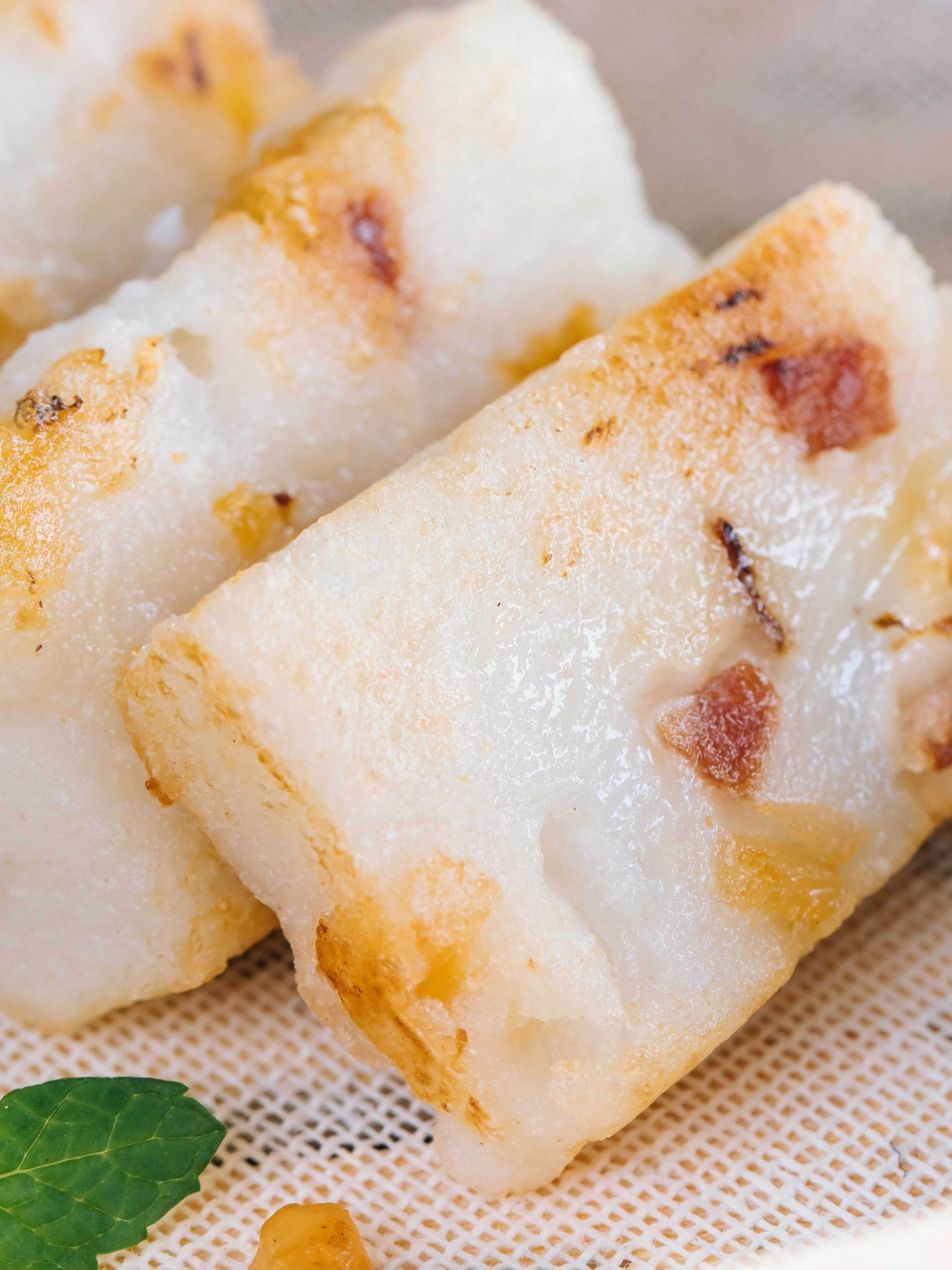 White Carrot Cake Recipe Chinese Style Dessert