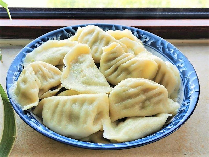 Zucchini pork dumplings recipe Chinese food