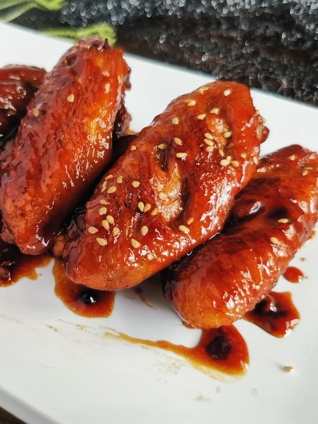 Chinese Sweet and Sour Chicken Wings China Food