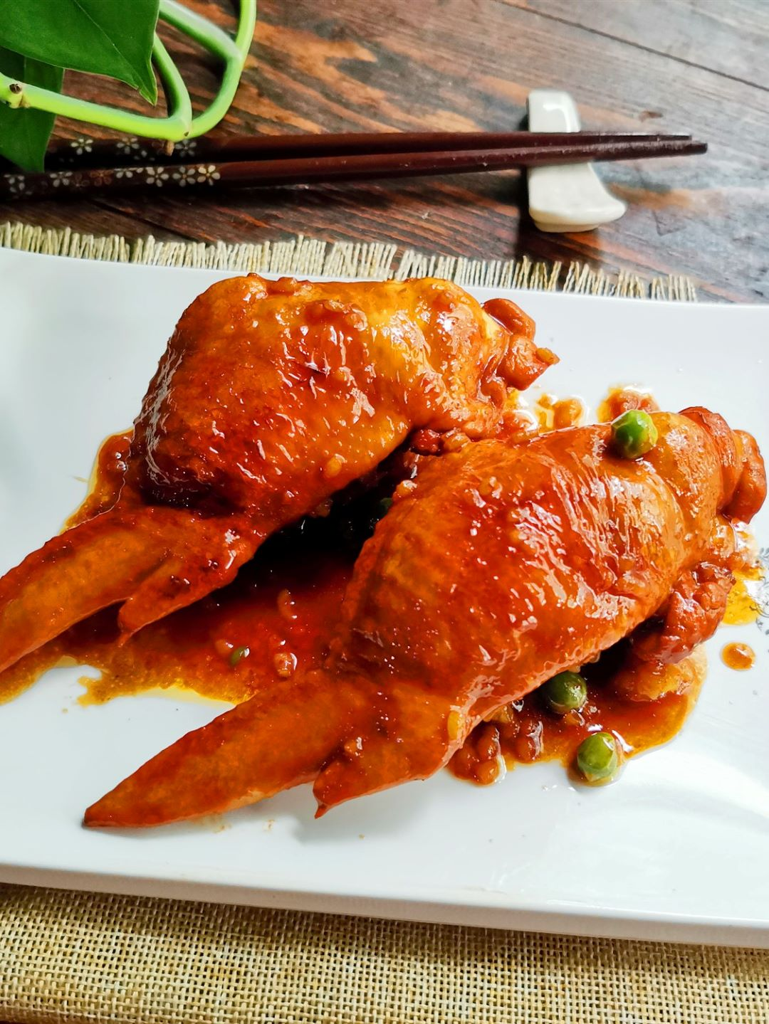 Chicken Wings Stuffed With Fried Rice