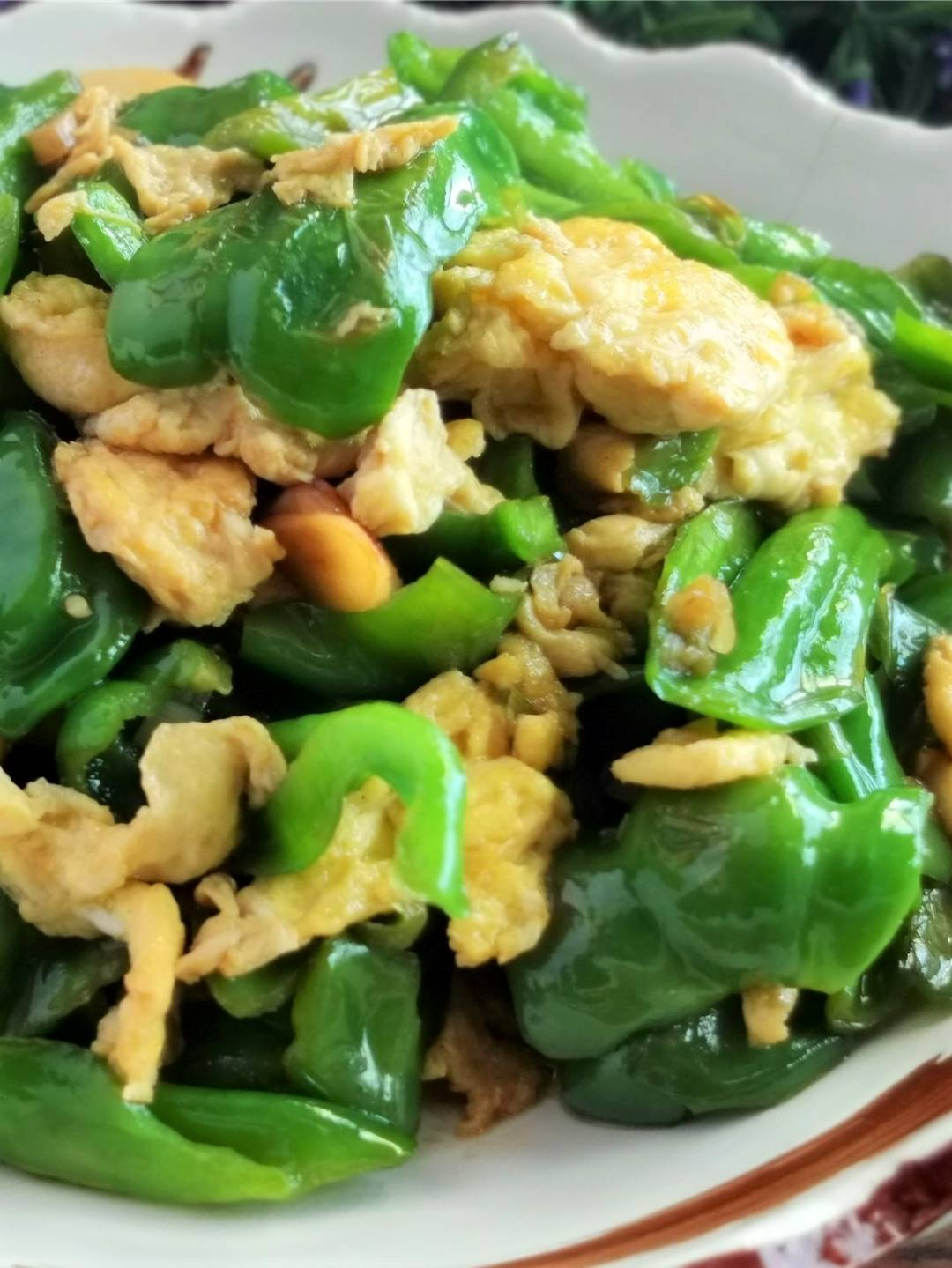 Scrambled Eggs With Green Peppers Benefits
