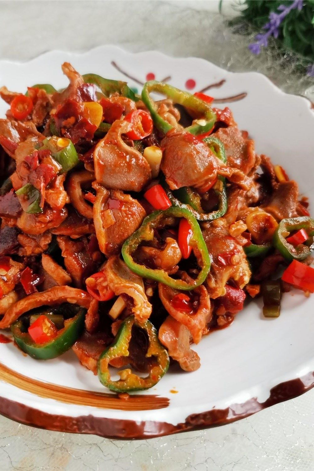 Spicy Chicken Gizzards How to Cook Chicken Gizzards Tender China food Chinese homemade dish recipe