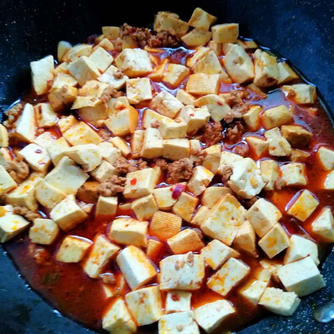 Tofu and ground pork recipe china food