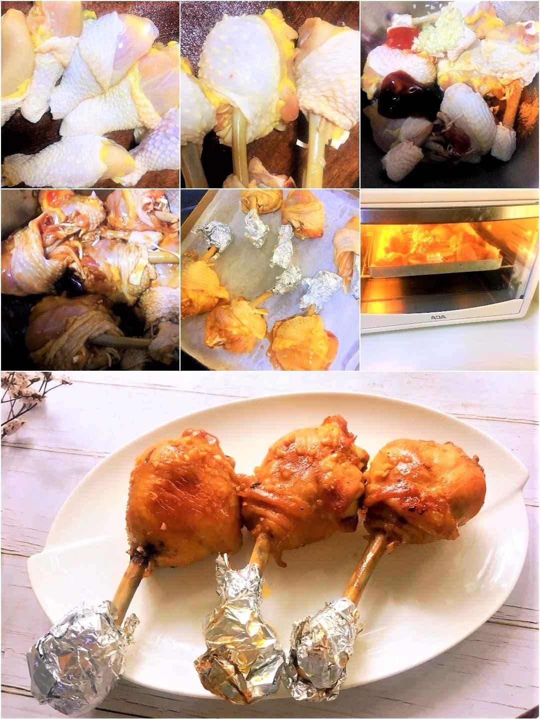 Baked chicken leg with honey baked honey chicken drumsticks steps