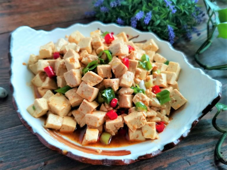 Chinese cold tofu salad recipe asian cold dishes
