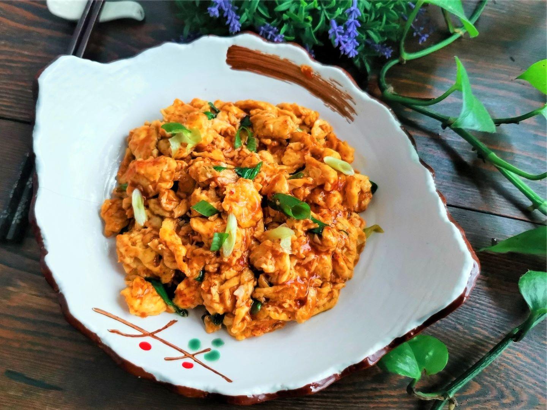 Tiktok scrambled eggs recipes Healthy breakfast and dinner