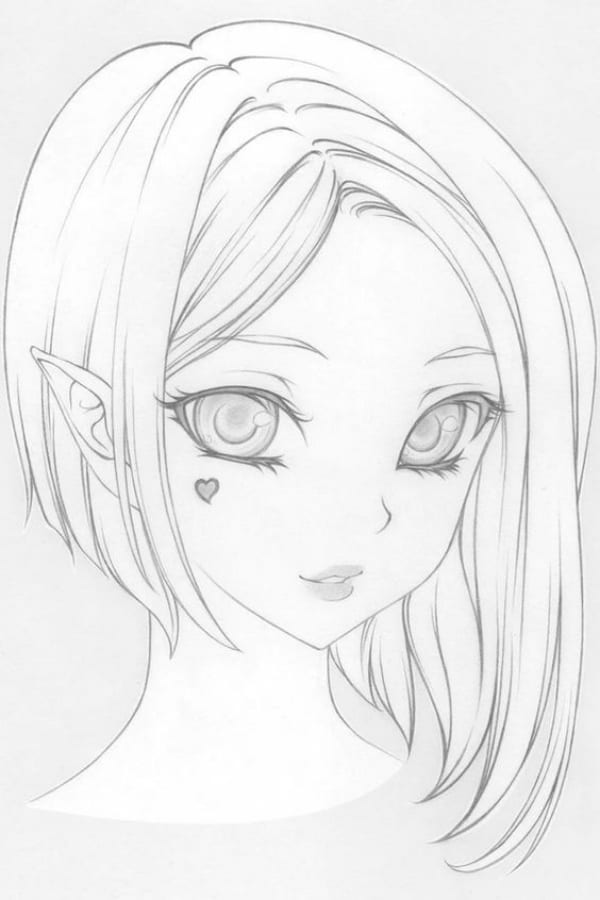 Best Anime Character Drawing Ideas 27