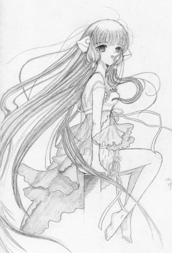 Best Anime Character Drawing Ideas 44