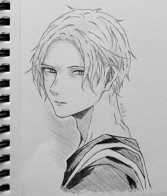 Best Anime Character Drawing Ideas 46
