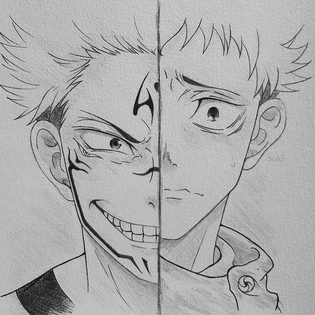 Best Anime Character Drawing Ideas 50