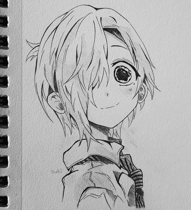 Best Anime Character Drawing Ideas 59
