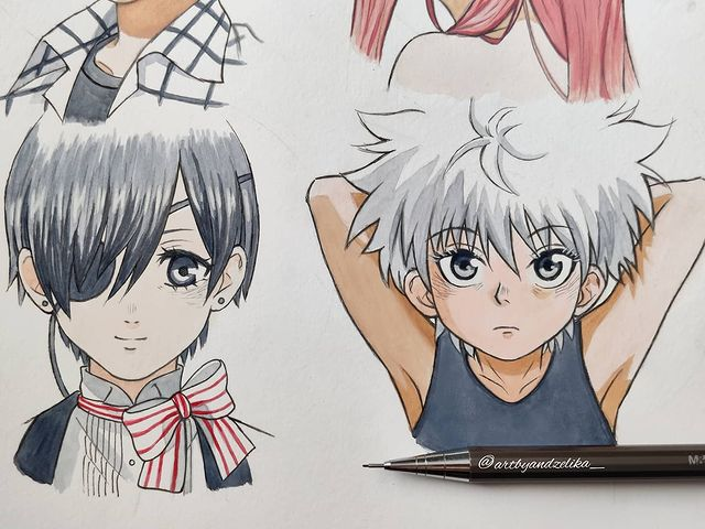 Best Anime Character Drawing Ideas 70
