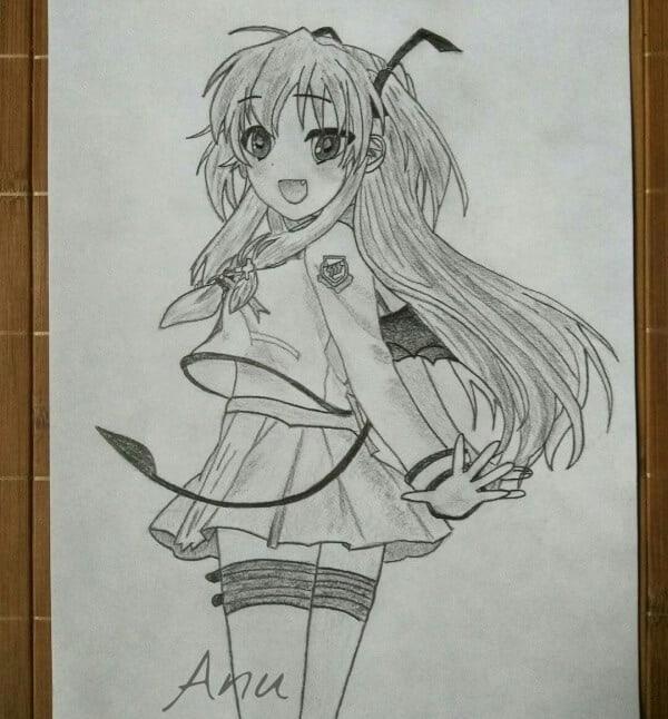 Angel Beats Characters Drawing