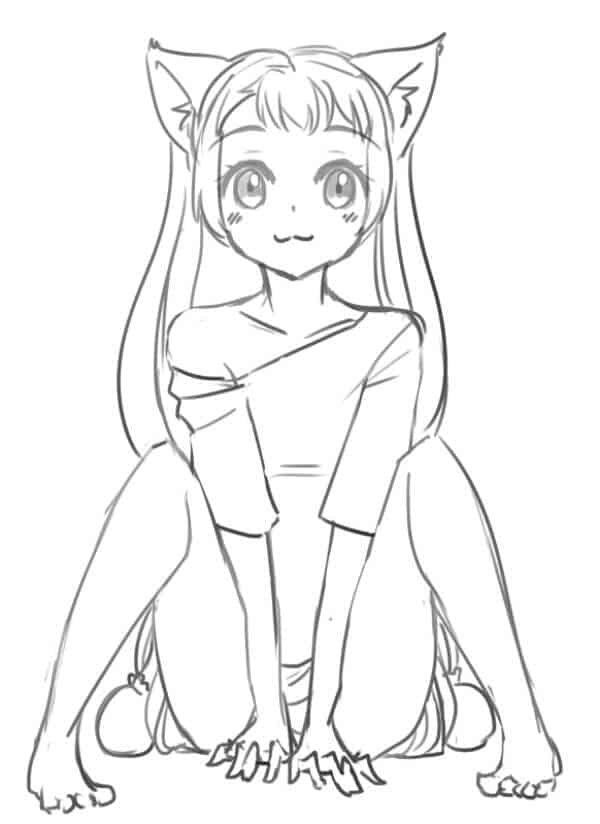 Aya Komichi Drawing Ideas Easy