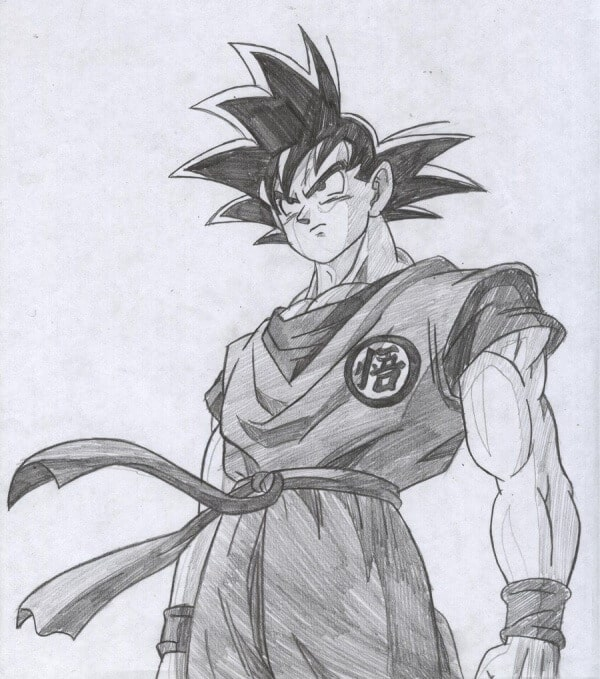 Goku Drawing Sketch