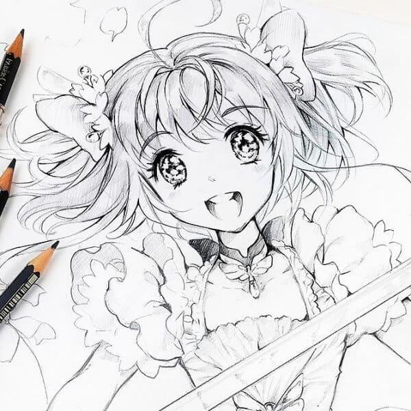 How To Draw Cardcaptor Sakura Easy