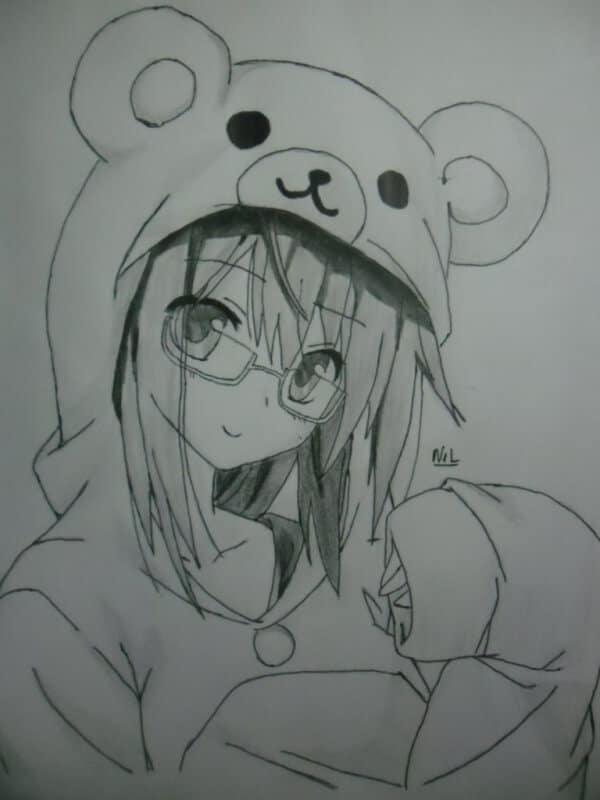 Kawaii Anime Girl Drawing Easy 25 Best Anime Character Drawing Ideas