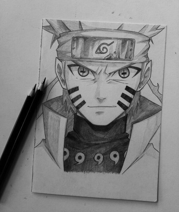 Naruto Uzumaki Drawing Easy